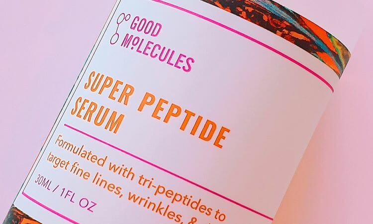 Reviewing Good Molecules' Super Peptide Serum