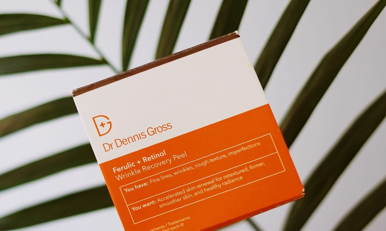 Reviewing Dr Dennis Gross's Ferulic and Retinol Wrinkle Recovery Peel