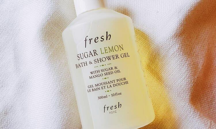 Reviewing Fresh;s Sugar Lemon Bath and Shower Gel