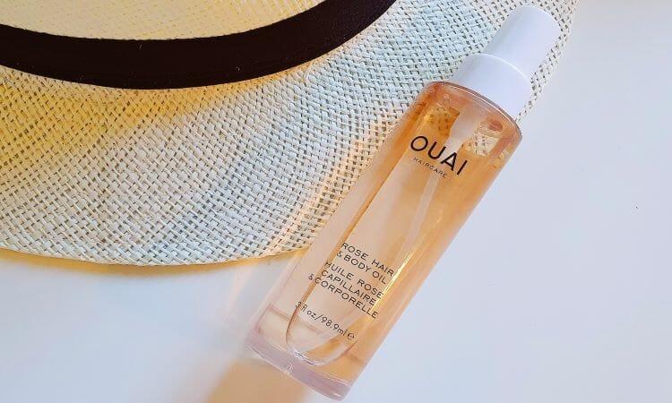 Reviewing Ouai's Rose Hair & Body Oil