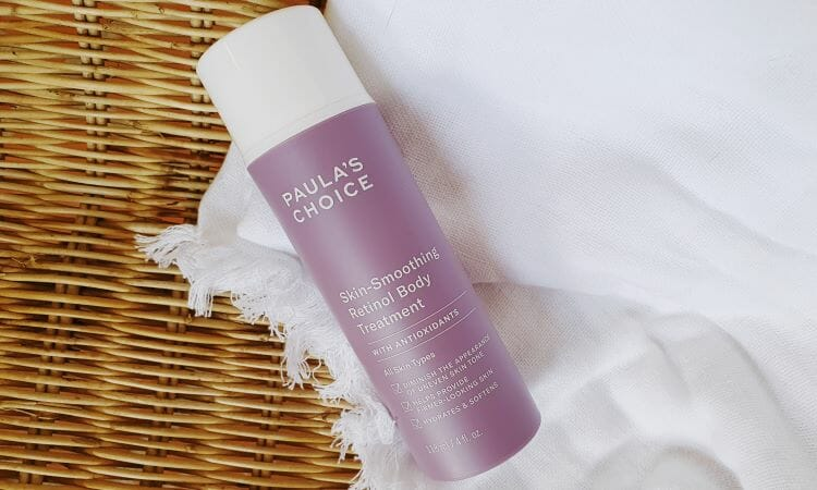 Reviewing Paula's Choice Skin Smoothing Retinol Body Treatment