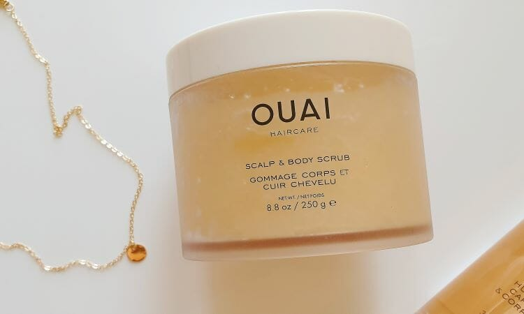 Reviewing Ouai's Scalp & Body Scrub